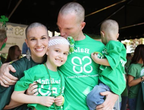 St. Patrick and St. Baldrick